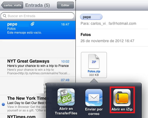Open Zip Or Rar Archives On Your Iphone Ipad
