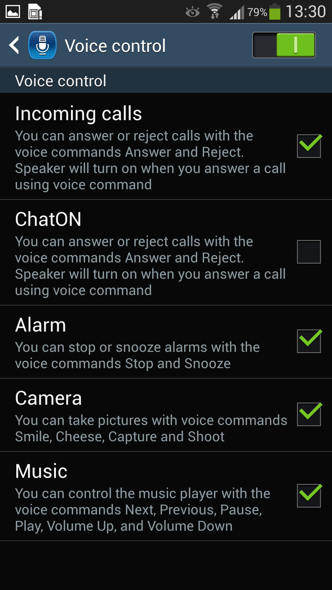 Samsung galaxy s4 enable the voice control feature related samsung galaxy s4 enable ccuart Gallery
