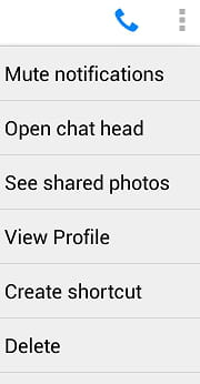 How to delete messages in facebook messenger ccuart Choice Image