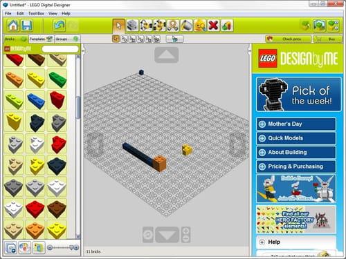 D Lego Builder Online