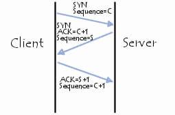 TCP/SYN flooding