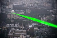 The coded data was sent over 50 kilometers (31 miles) on a single laser beam