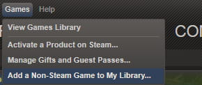 how to delete a steam game from your library