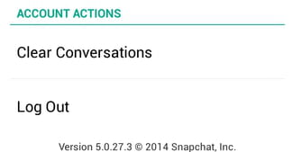 How to delete snapchat conversations ccuart Choice Image