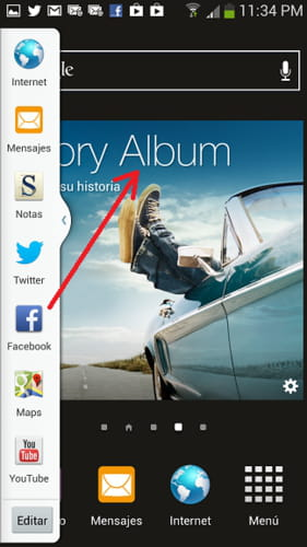 Samsung galaxy s4 how to enable and use the multitasking bar ccuart Gallery