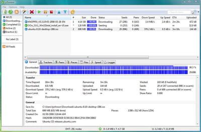 µTorrent 3.5.0 Build 44294