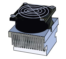 Fans and radiators
