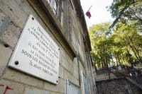 Commemorative plaques on the walls of Paris keep alive the memory of those who suffered during Nazi occupation