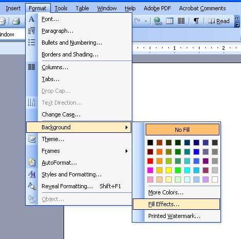 How To Add A Background Image Watermark Word Document