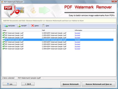 Download the latest version of PDF Watermark Remover free in English
