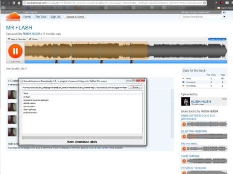 Download the latest version of Soundcloud Downloader free in