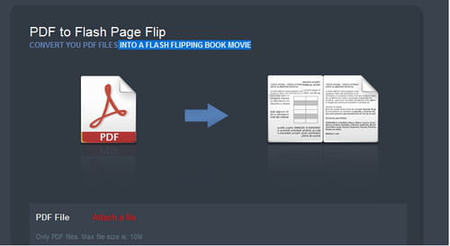 Codebox - Convert your PDF into Flash files