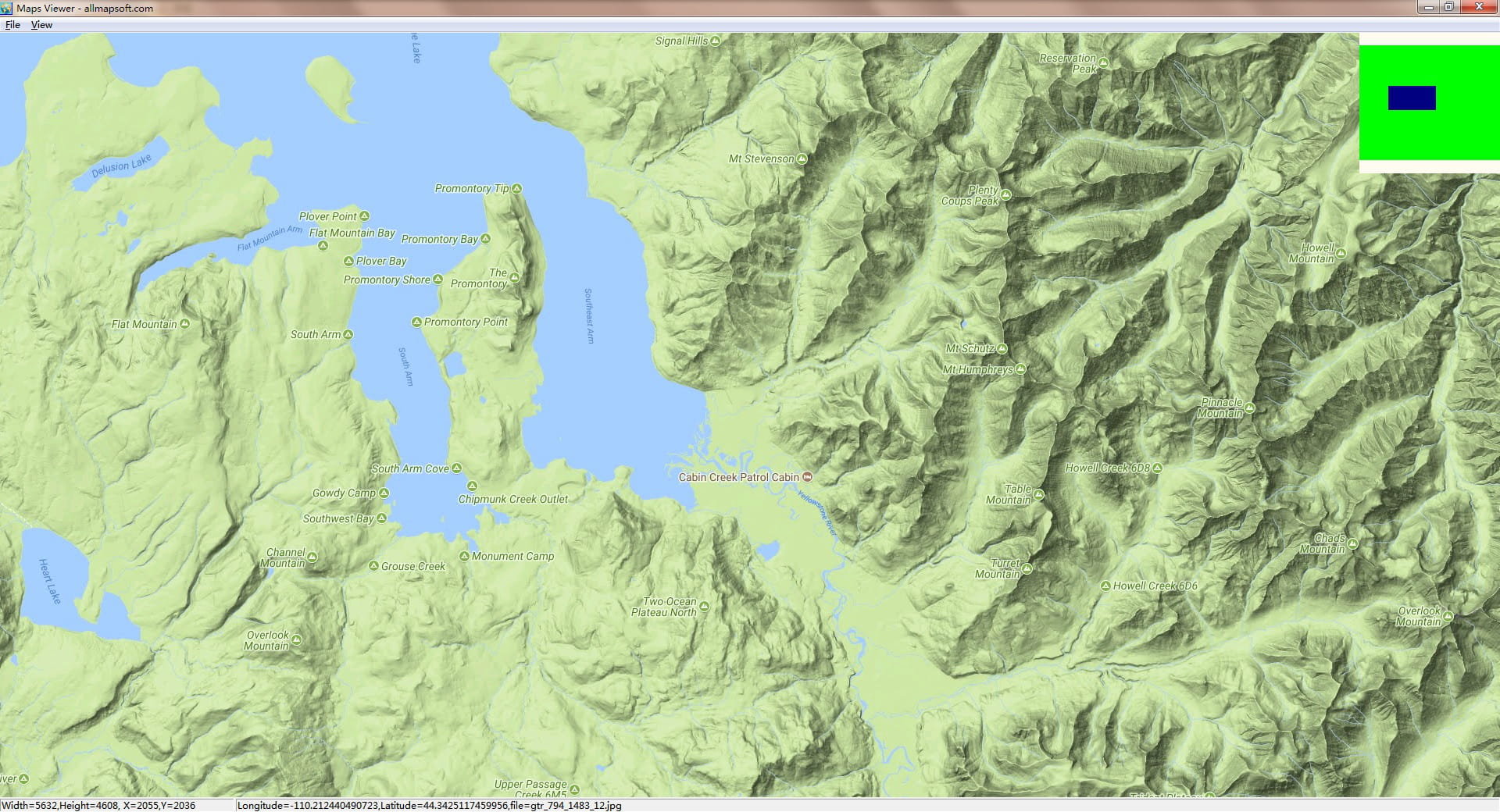 Download the latest version of Google Maps Terrain Downloader free on