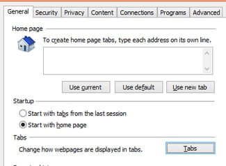 Internet Explorer - Automatically open popups in a new tab