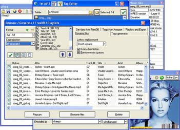 Download the latest version of 1st MP3 Tag Editor free in