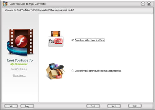 Download the latest version of Cool Youtube To MP3 Converter