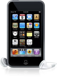 iPod Touch - transfer files via Bluetooth