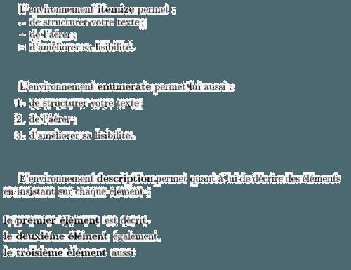 LaTeX - Text formatting