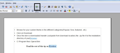 Openoffice writer insert an hyperlink - Open office android francais ...