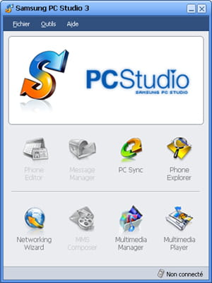 Download the latest version of Samsung PC Studio free in English on CCM