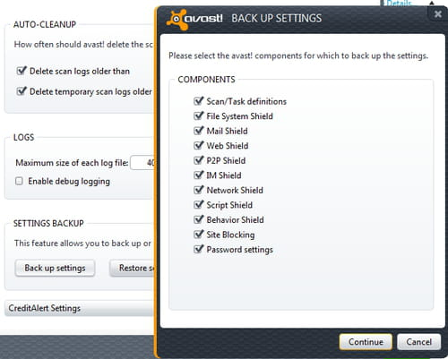 avast how to go back to free