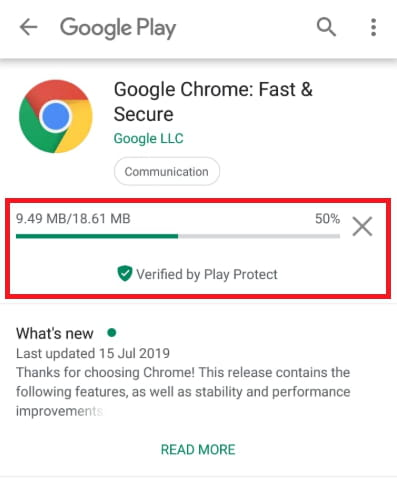 How To Update Google Chrome Browser on Phone