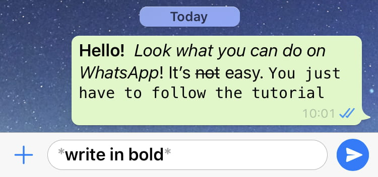 How To Use Different Fonts In Whatsapp Ccm