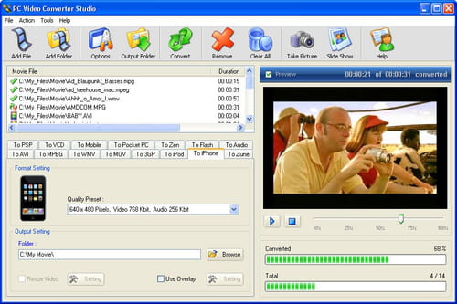 Download the latest version of PC Video Converter Studio free