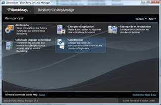 Download the latest version of BlackBerry Desktop Manager free in