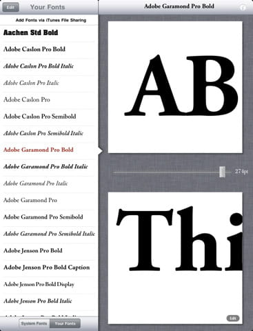 Download the latest version of FontBook free in English on CCM
