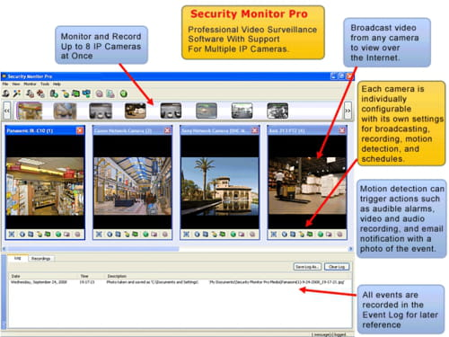 Download the latest version of Security Monitor Pro free in English