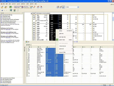 scanned pdf to excel converter free download full version