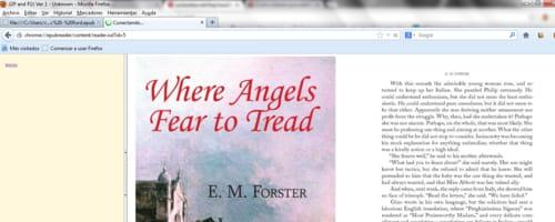 Read ePub files using Firefox
