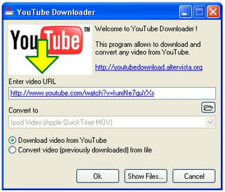 Download the latest version of youtube movie downloader free in to download a file users simply need to enter a video url choose the output format and target folder and then click on the download button to begin the stopboris Choice Image