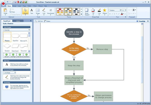 smartdraw is a software designed to create graphic diagrams this is helpful when the user wants to represent data in graph so they will be easier to - Free Smartdraw Download