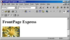 download the latest version of frontpage express free in english on ccm