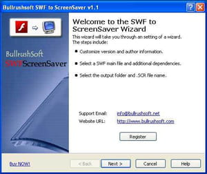 Download the latest version of Bullrushsoft SWF To