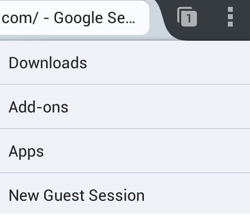 Firefox For Android How To Open Guest Session