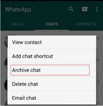 How To Hide a Conversation in WhatsApp