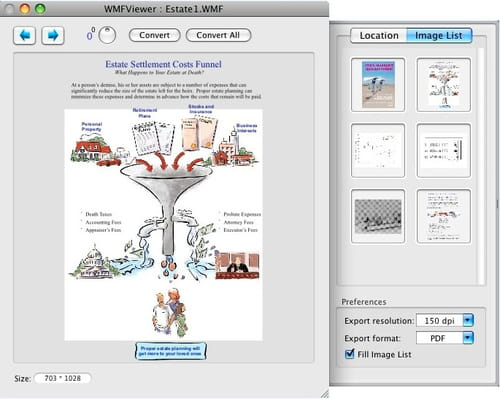Download the latest version of WMF Viewer free in English on CCM