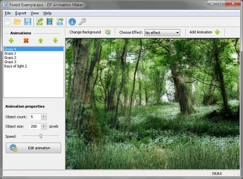 Download the latest version of DP animation Maker free in