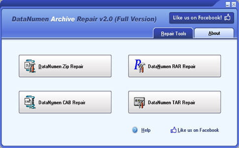 Download the latest version of Advanced Archive Repair free