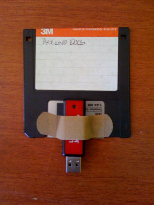 Floppy drive ide to usb adapter