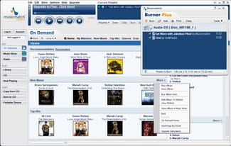 Download the latest version of MusicMatch Jukebox free in English on CCM