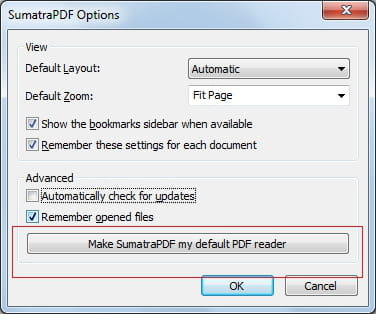 how to change default pdf viewer