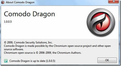 Download the latest version of Comodo Dragon Internet