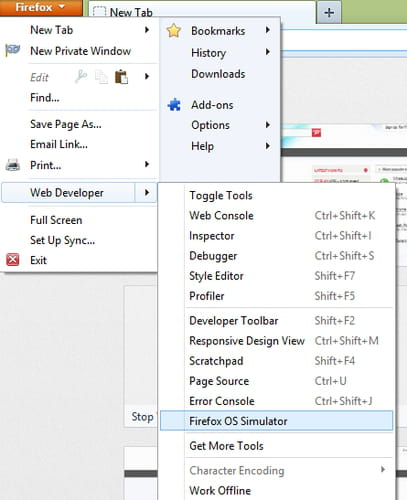 Install the Firefox OS desktop build