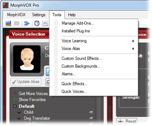 Download the latest version of MorphVOX Pro Voice Changer