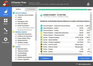delete windows.old with ccleaner