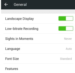 WeChat - How to enable the landscape display mode